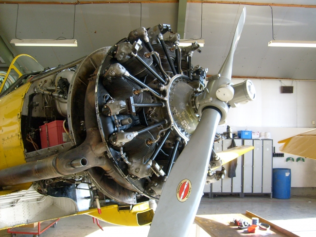 Vliegwerk Holland - oldtimer services